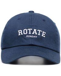 ROTATE BIRGER CHRISTENSEN Бейсболка Sunday С Вышитым Логотипом - Синий