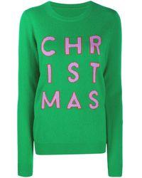 Chinti & Parker Christmas カシミア セーター - グリーン