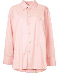 Marni - Back Button Detail Classic Shirt - Lyst