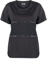 adidas By Stella McCartney パネル Tシャツ - ブラック