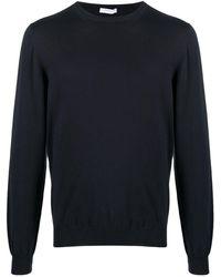 Boglioli クルーネック セーター - ブルー