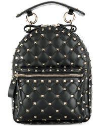 bb0f2842ff Valentino - Garavani Rockstud Spike Mini Backpack - Lyst
