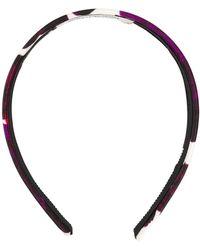 Erdem Floral Headband - Purple