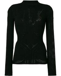 Roberto Cavalli Roll Neck Sweater - ブラック