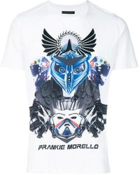 Frankie Morello - Graphic Short Sleeved T-shirt - Lyst