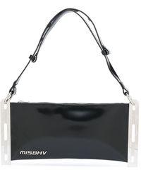 MISBHV メタルサイド クラッチバッグ - ブラック