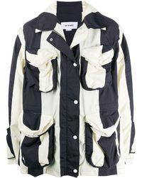 Sunnei ストライプ ジャケット - ホワイト