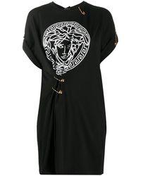 Versace - Футболка Оверсайз С Декором Medusa - Lyst