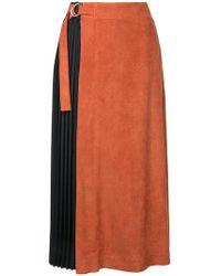 Guild Prime   Pleated Midi Skirt   Lyst