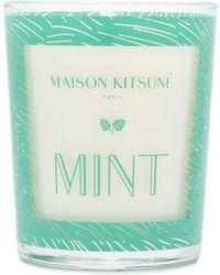 Maison Kitsuné ミント キャンドル - グリーン