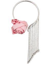 Miu Miu Choker Met Hanger - Roze
