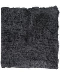 Avant Toi カシミア スカーフ - グレー