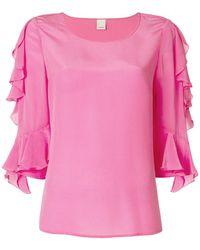 Pinko - Three-quarter Sleeve Blouse - Lyst