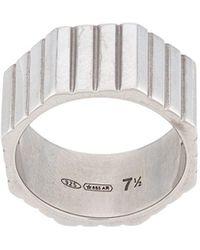 Ivi Octagon-shaped Ring - Metallic