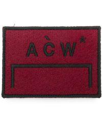 A_COLD_WALL* - Patch à logo brodé - Lyst