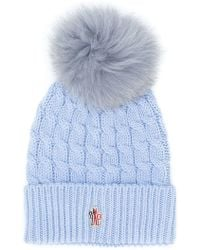 Moncler Grenoble - Cable Knit Beanie - Lyst
