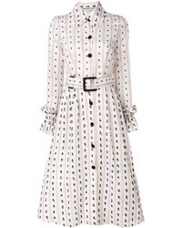 Edeline Lee Festoon Telluride ドレス - マルチカラー