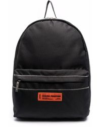 Heron Preston Nylon Backpack Black Black
