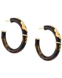 Gas Bijoux Orecchini a cerchio Cobra - Multicolore