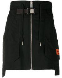 Heron Preston Tailoring Cargo Skirt - Black