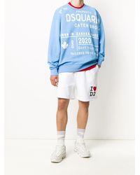 DSquared² - Sweatshirt mit Logo-Print - Lyst