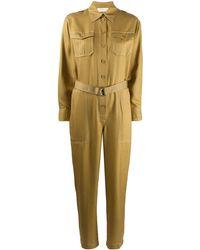 Zimmermann ベルテッド ジャンプスーツ - グリーン