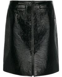 Courreges | Courrèges Zipped Detailing A-line Skirt | Lyst