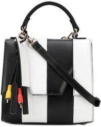 MSGM M Crossbody Bag - Black