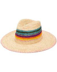 8b2e7c7c778 Paul Smith - Woven Rainbow Hat - Lyst