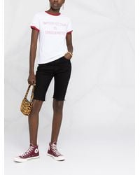 Golden Goose Deluxe Brand Imperfection Is Uniqueness Tシャツ - ホワイト
