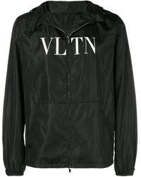 Valentino - フーデッド ジップジャケット - Lyst