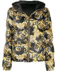 Versace Jeans Couture - Пуховик С Принтом Baroque - Lyst