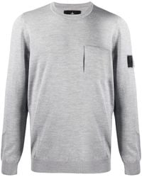 Stone Island Shadow Project - Pull à patch logo - Lyst