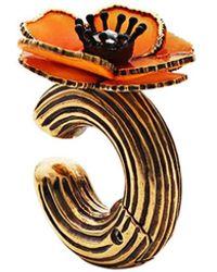 Fendi - Flower Earring - Lyst