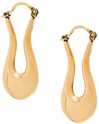 Marni Blow Up Earrings - Metallic