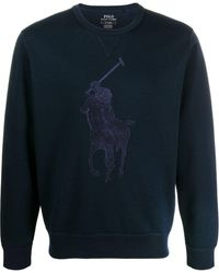 Ralph Lauren Big Pony スウェットシャツ - ブルー