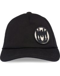 Miu Miu Logo Patch Baseball Cap - Black