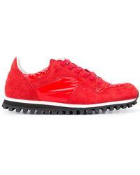 Comme des Garçons Кроссовки Marathon - Красный