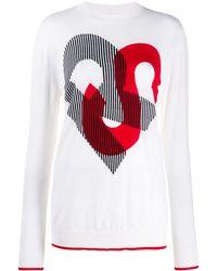 Sonia Rykiel - モノグラム セーター - Lyst