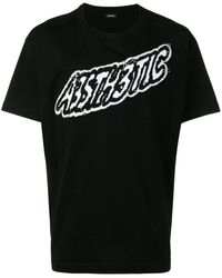 DIESEL A3sth3tic Tシャツ - ブラック
