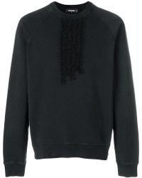 DSquared² - Sweatshirt mit Rüschen - Lyst
