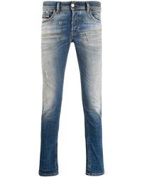 DIESEL Skinny Jeans - Blauw