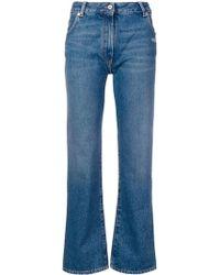 Off-White c/o Virgil Abloh Jeans mit regulärer Passform