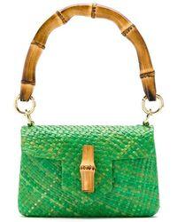 Serpui - Straw Shoulder Bag - Lyst