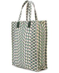 Cynthia Rowley Geometric Print Tote - Green