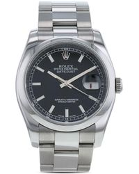 Rolex 2006 pre-owned Datejust Armband, 36mm - Mettallic