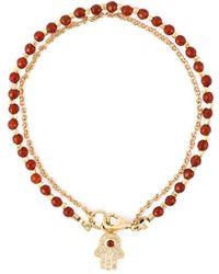 Astley Clarke 'hamsa Biography' Bracelet - Red