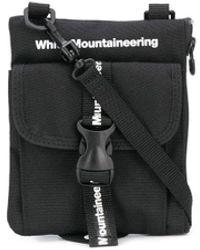 White Mountaineering ロゴ ショルダーバッグ - ブラック
