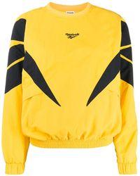 Reebok Sweater Met Ronde Hals - Geel