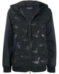 EA7 パデッドジャケット - ブラック